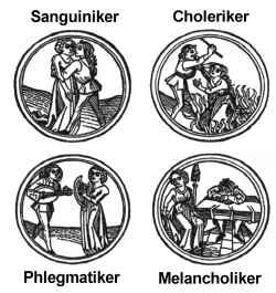 Choleriker phlegmatiker melancholiker sanguiniker